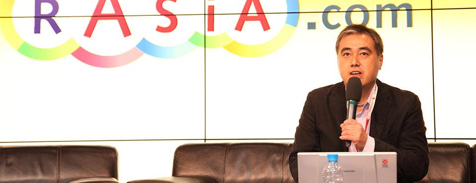 Hajime Taniguchi President of Avex Music Publishing inc rASiA.com 2012