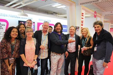 Russian Innovation Pavilion rASiA.com ™ on MIPTV 2015 | International Innovation Forum rASiA.COM