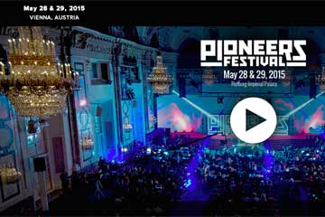 Pioneers Festival will take place on May 28 & 29, 2015 in Vienna | International Innovation Forum rASiA.COM